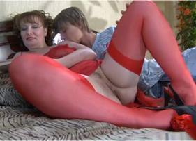 Sexo Anal gostoso com a minha Tia Rabuda viciada em pau