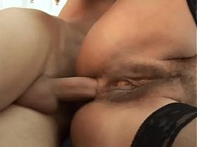 Porno Anal com coroa